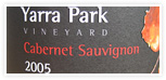 Order 2005 Cabernet Sauvignon from Yarra Park Wines