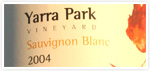 Order 2004 Sauvignon Blanc from Yarra Park Wines