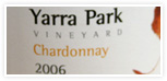Order 2006 Chardonnay from Yarra Park Wines